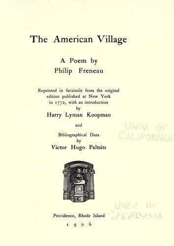 The American village