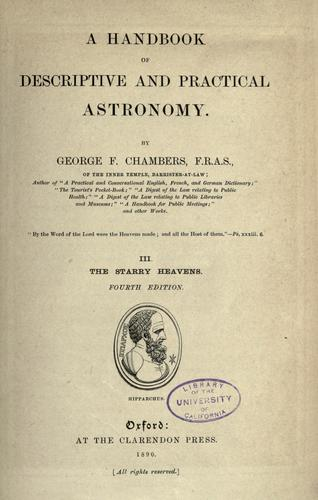 Download A handbook of descriptive and practical astronomy