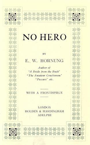 No hero.
