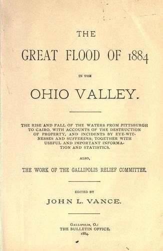 Download The great flood of 1884 in the Ohio Valley.