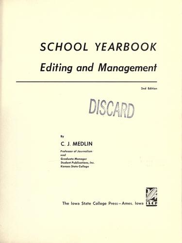 Download School yearbook editing and management.