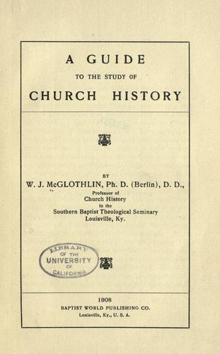 Download A guide to the study of church history
