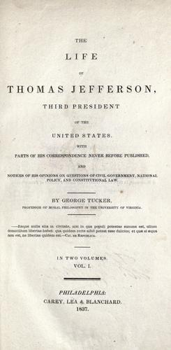 The life of Thomas Jefferson, third president of the United States.