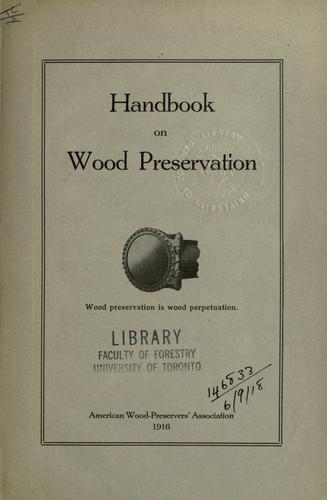 Handbook on wood preservation.