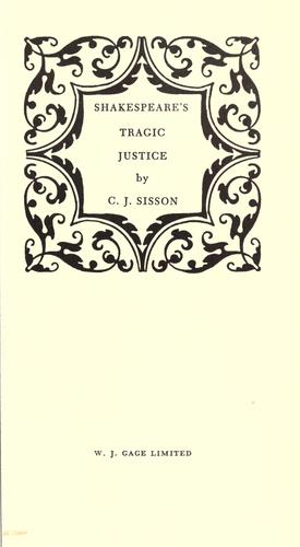 Download Shakespeare's tragic justice