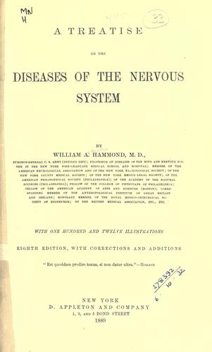 A treatise on the diseases of the nervous system.