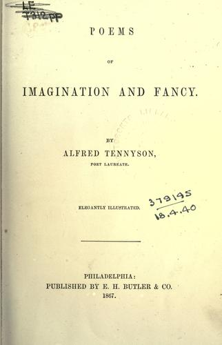 Download Poems of imagination and fancy.
