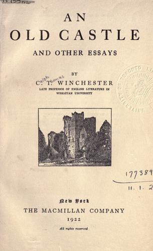 An old castle and other essays.