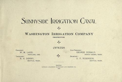 Download Sunnyside irrigation canal