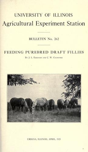 Download Feeding purebred draft fillies