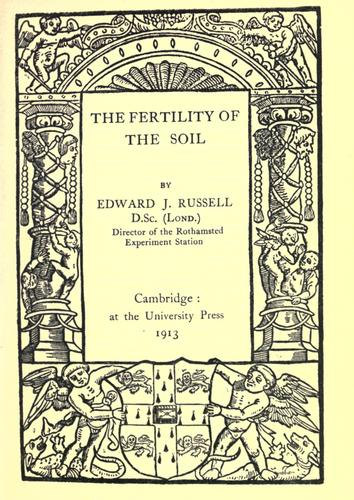 Download The fertility of the soil