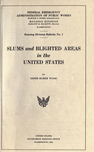 Slums and blighted areas in the United States