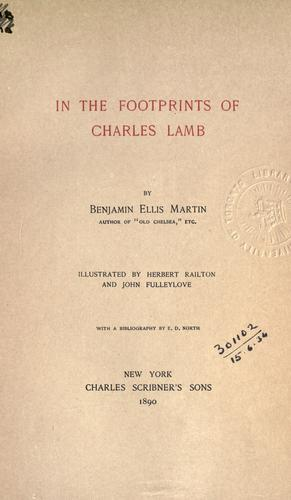 Download In the footprints of Charles Lamb.