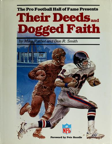 Download The Pro Football Hall of Fame presents Their deeds and dogged faith