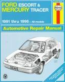 Ford Escort & Mercury Tracer automotive repair manual