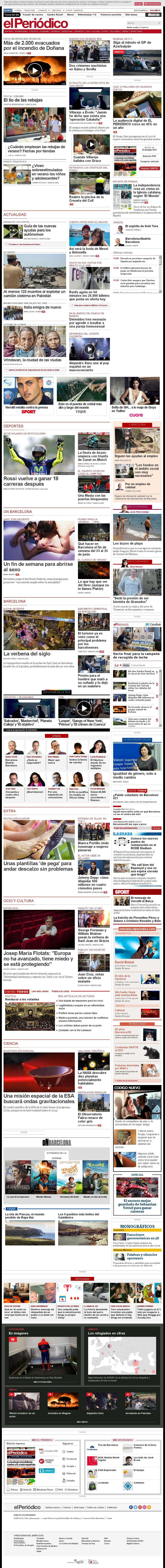El Periodico at Sunday June 25, 2017, 1:12 p.m. UTC