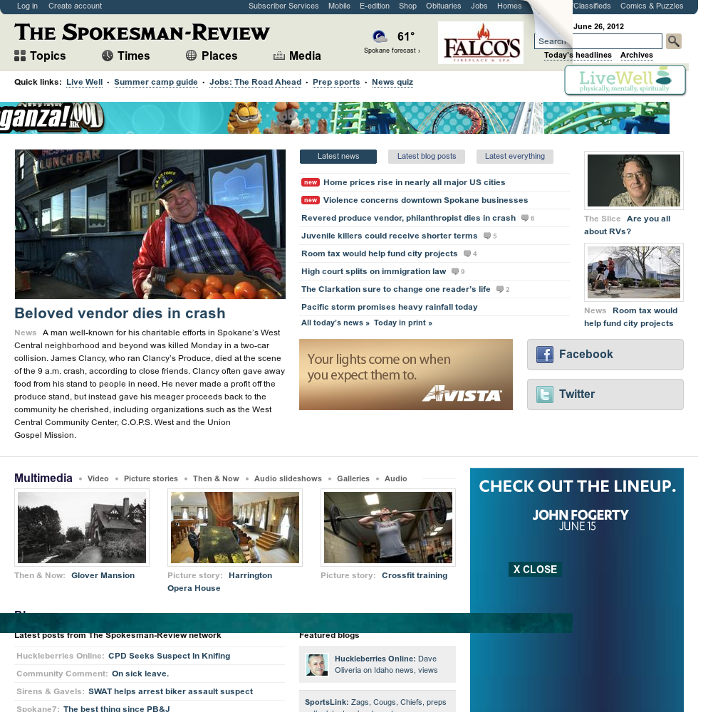 The (Spokane) Spokesman-Review