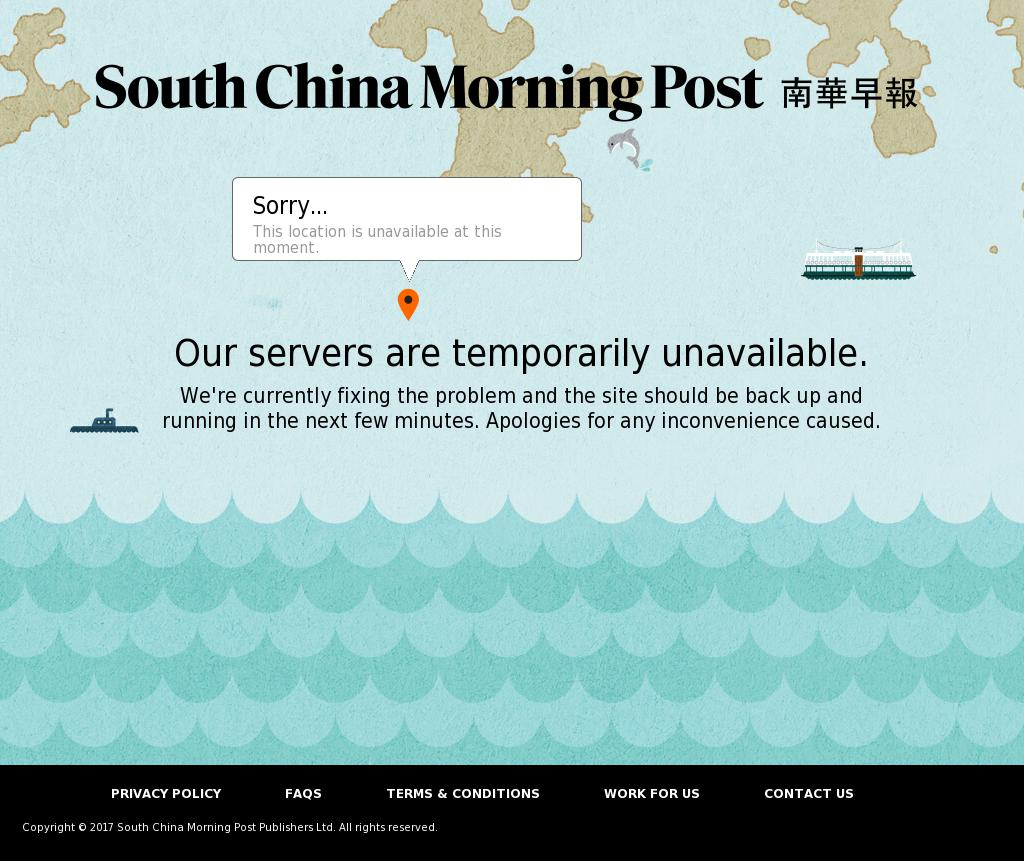 South China Morning Post at Saturday Oct. 7, 2017, 11:14 a.m. UTC