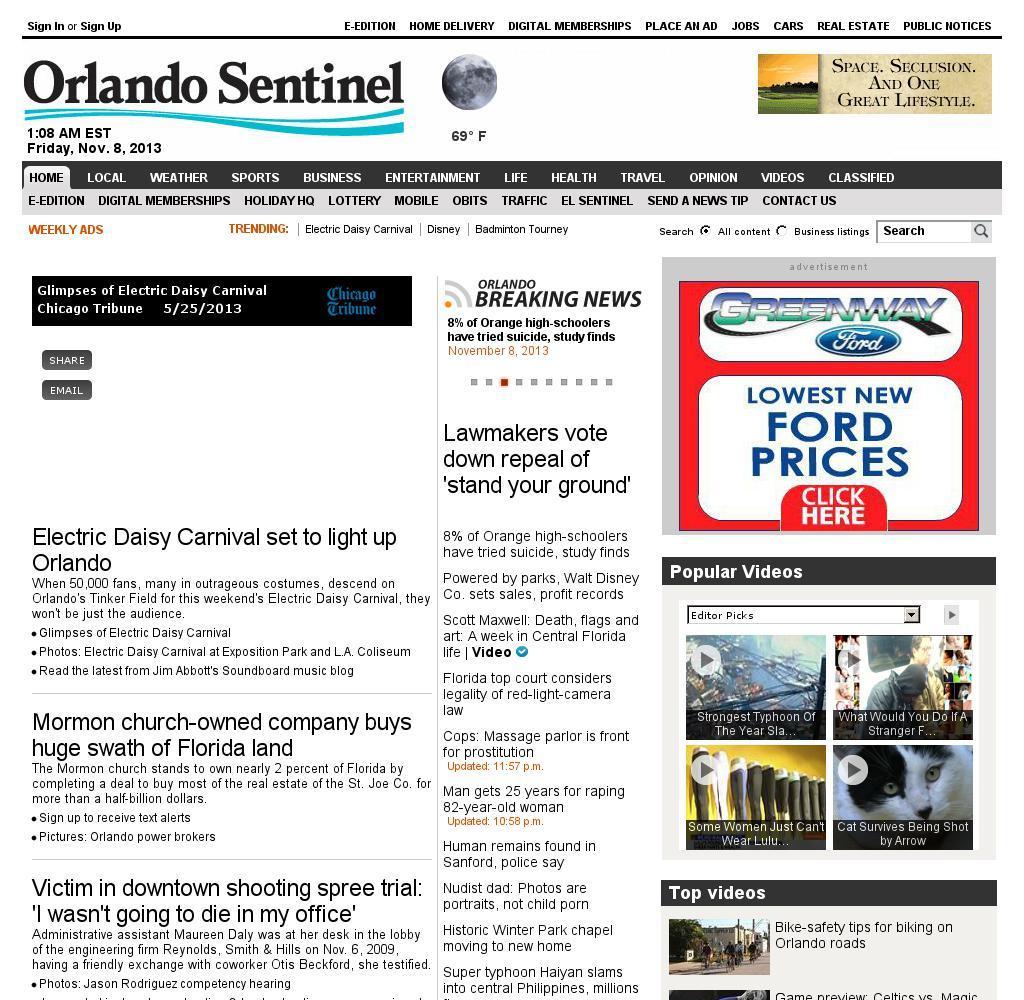 Orlando Sentinel