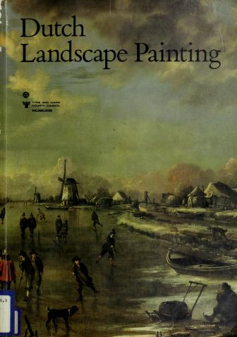 Cover of: Dutch landscape painting | Christopher Wright