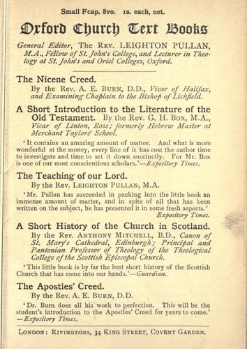 The Nicene Creed by